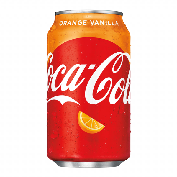 Coca Cola Orange Vanilla - 12fl.oz (355ml) (US)